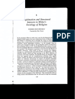 Legitimation and Structured Interests in Weber's Sociology of Religion