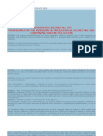 Marine Pollution Decree of 1976 (PD 979)