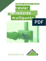 Instalacion de Cerraduras Multipunto