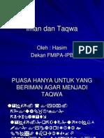 Hasim Iman Dan Taqwa