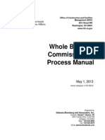 Whole Building Commissioning Process Manual