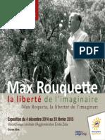Plaquette Max Rouquette
