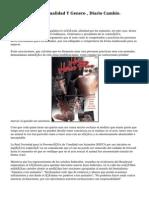 Psicología , Sexualidad Y Genero , Diario Cambio.