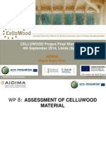 CELLUWOOD Project Final Workshop Results
