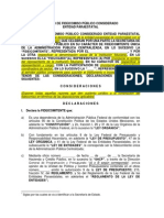 Modelo de Fideicomiso para leyes