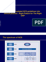 Slide Translating Guidelines Into Clinical Practice in ACS Management