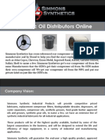 Hydraulic Oil Distributors Online