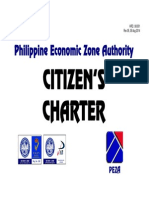 PEZA Citizens Charter May 2014