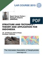 FLYER Structure Tectonics Awang H Satyana
