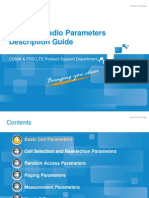 FDD LTE Radio Parameters Description Guide