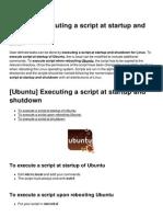 Ubuntu Executing a Script at Startup and Shutdown 3348 Lzb0bd
