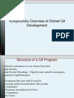 SynapseIndia Overview of Dotnet C# Development