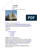 Religión en la India andre