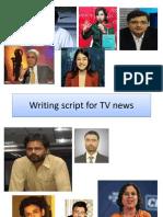Writing script for TV news.pptx
