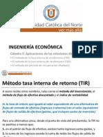 Catedra 5 - Metodo TIR TER y PayBack