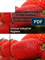 Workers Responsibility in Food Business During Implementation