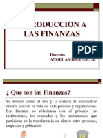 1 Introduccion a Las Finansas