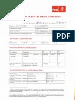 Declaración de rentas, bienes e intereses de Eva Díaz Tezanos