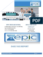 EPIC RESEARCH SINGAPORE - Daily SGX Singapore Report of 11 Th December 2014
