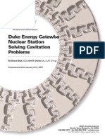 872 Tp Duke Energycatawba Nuclear Station Solving Cavitation Problems in Raw Water Service