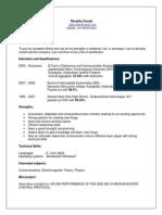 Ravalika Resume