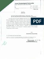 Reminder for online filling of student resume.pdf