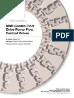 874 Tp Bwr Control Rod Drive Pump Flow Control Valves