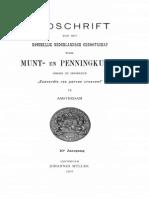 Onbeschreven of weinig bekende munten van het Graafschap Holland en Zeeland / [M. de Man]