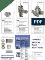 575 Drag Valve for Fossil Power Plants