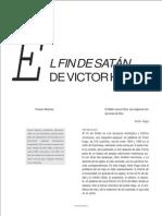 Victor Hugo -El Fin de Satán