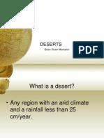 EARSCI DESERT