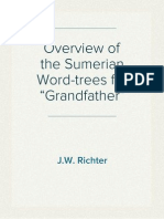 "Overview of the Sumerian Word-trees for ""Grandfather"""