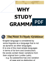 Grammar teaching