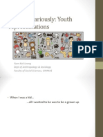 SSY2034 Sociology of Youth Chap 4 Youth Representation