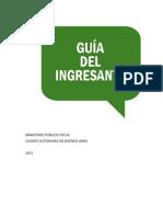 Guía Del Ingresante Al MPF CABA