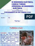 turbina a gas funcionamiento