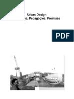 Urban Design - Practises-Pedagogies-Premises - Conference Program