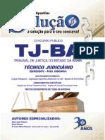 TJ BA Tecnico Judiciário Escrevente APOSTILA SOLUÇÃO
