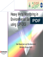 Heavy Metal Monitoring