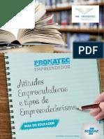 6 - Modulo Atitudes Empreendedoras - Guia Do Educador