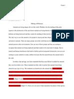 senior project service paper