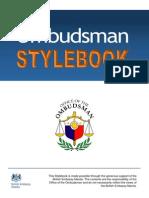 Ombudsman Stylebook