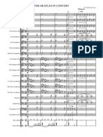 The Beatles in Concert Score and Parts