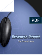 Cyber Crime in Pakistan Research Report