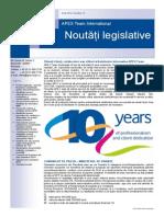 APEX Team Noutati Legislative 10 2014