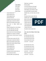 Fast Track Hindi Songs Lyrics.doc