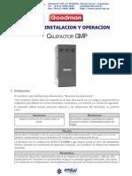 Miyo Gmp Manual de instalacion