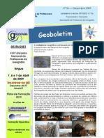 Geoboletim Dezembro 2009