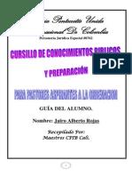 Cursillo Para Pastores de Ordenacion Guia Del Alumno - Copia