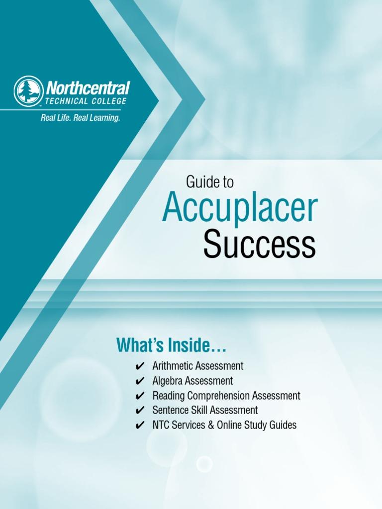 Accuplacer-Guide.pdf | Factorization | Fraction (Mathematics)